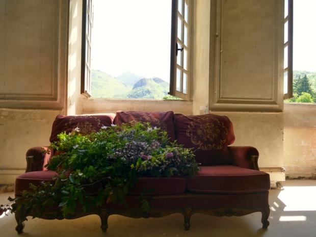detalle floral château gudanes