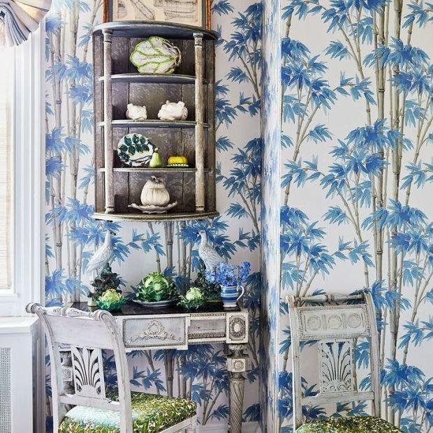 mueble auxiliar pintado plata